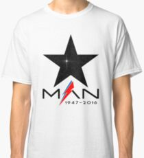 RIP Starman (David Bowie) 1947-2016 Classic T-Shirt