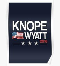Knope Wyatt 2016 Poster