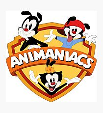 animaniacs logo Photographic Print