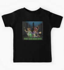 Teenage Talking Dancing Muppets Kids Tee