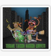 Teenage Talking Dancing Muppets Sticker