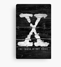 the x-files Canvas Print