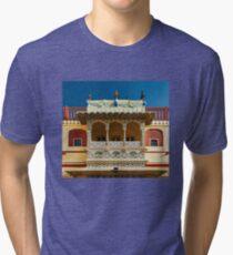 City Palace Porch Tri-blend T-Shirt