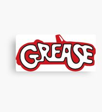 grease Canvas Print