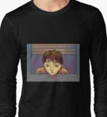 looking through the window Long Sleeve T-Shirt