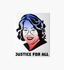 Justice for All, Sonia Sotomayor Galeriedruck