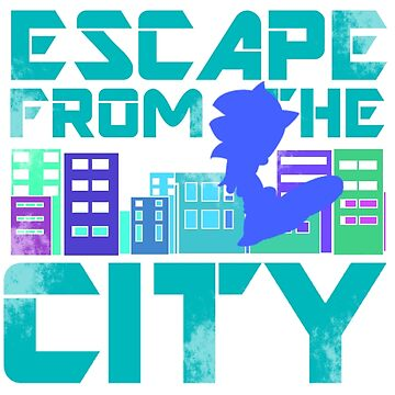 Escape from the City by saedru