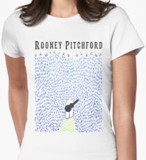 Rooney Walks into Sea of Unfamiliar Places Womens Fitted T-Shirt