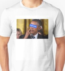 Obama walks into Supreme Newyork T-Shirt