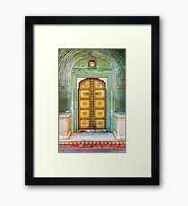 City Palace Door Framed Print