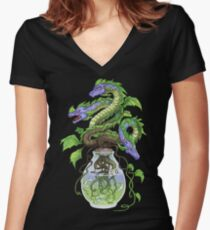 Continuum 12: Stranger than fiction Women's Fitted V-Neck T-Shirt