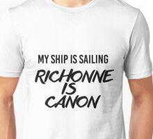 Richonne is canon. Unisex T-Shirt