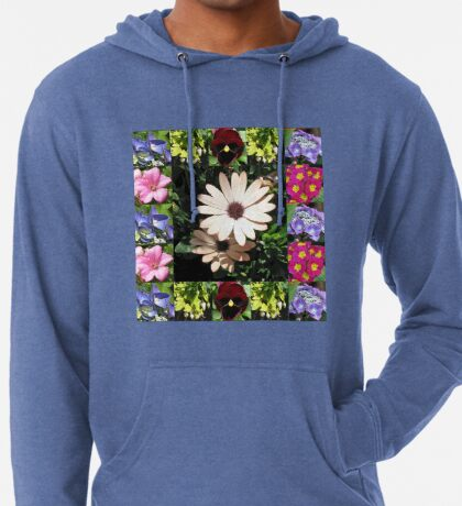 Bright and Beautiful - Floral Collage Leichter Hoodie