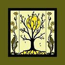 Art Deco - Tree by Linda Callaghan