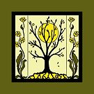 Art Deco - Tree by Linda Callaghan
