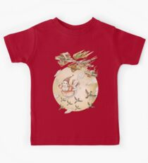 kite girl fly Kids Clothes