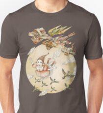kite girl fly T-Shirt