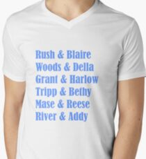 Rosemary Beach Men's V-Neck T-Shirt