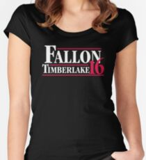 Fallon timberlake 16 Women's Fitted Scoop T-Shirt