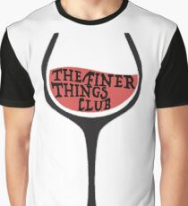 The Finer Things Club Graphic T-Shirt