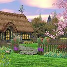 Country Cottage  by Walter Colvin