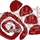 Animals Field Study Words (scb) by Multnomah ESD Outdoor School