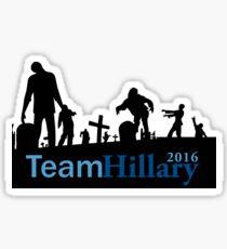 Team Hillary Sticker