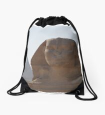 Egypt's great sphinx and the great pyramid Drawstring Bag