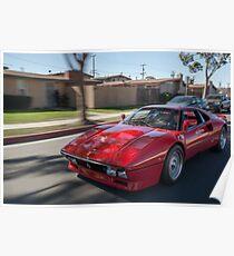 288 GTO Poster