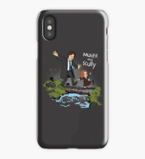 Sculvin and Hobbes iPhone Case