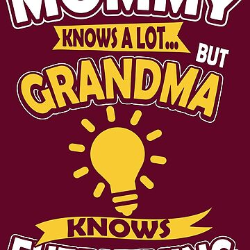 Grandma Knows Everything by RJCruz
