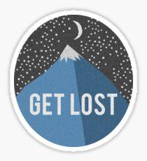 """""""Get LOST"""" Sticker"""