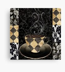 Cafe Noir Harlequin Canvas Print