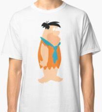 Minimalist Fred Flintstone Classic T-Shirt
