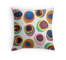 Rainbow Resin Throw Pillow