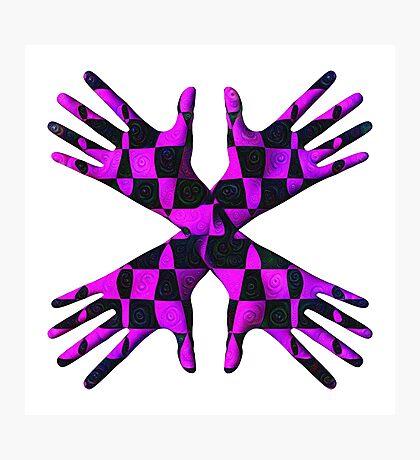 #DeepDream Gloves 5x5K v1456239375 Photographic Print