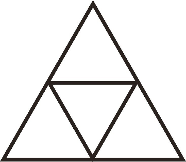 Quot Zelda Triforce Outline Quot By Wexwex Redbubble