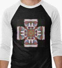 #DeepDream Masks 5x5K v1455625554 Baseball ¾ Sleeve T-Shirt