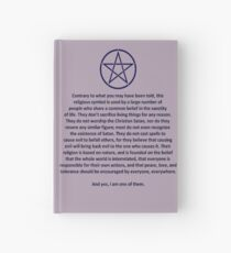 Wiccan Hardcover Journal