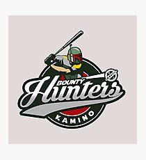 Bounty Hunters baseball  Photographic Print