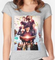 OUAT Turns 100 Women's Fitted Scoop T-Shirt