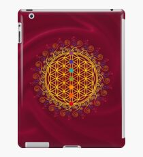 FLOWER OF LIFE, CHAKRAS, SPIRITUALITY, YOGA, ZEN,  iPad Case/Skin
