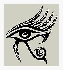 Eye of Horus, Protection, Symbol Wisdom & Truth, Photographic Print
