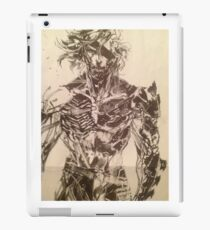 Broken Raiden iPad Case/Skin