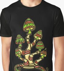 Magic mushrooms, Plants of the Gods, psychedelic, Trance Goa Psy  Graphic T-Shirt