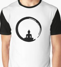 Enso Zen Circle of Enlightenment,  Meditation, Buddha, Buddhism, Japan Graphic T-Shirt