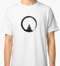 Enso Zen Circle of Enlightenment,  Meditation, Buddha, Buddhism, Japan Classic T-Shirt