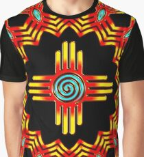 Zia Sun - Zia Pueblo - New Mexico Graphic T-Shirt