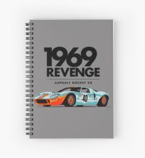 1969 Rocket V8 Spiral Notebook