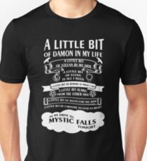 TVD Song (b/w) Unisex T-Shirt